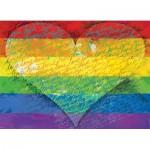 Puzzle  Eurographics-6000-5542 Love & Pride !