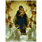 Puzzle  Eurographics-6000-7064 William A. Bouguereau : Vierge avec Anges