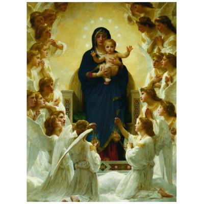 Puzzle Eurographics-6000-7064 William A. Bouguereau : Vierge avec Anges