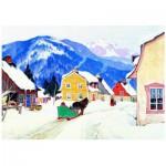 Puzzle  Eurographics-6000-7182 Gagnon : Village Laurentian