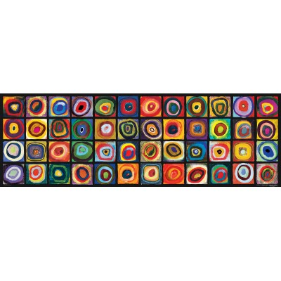 Puzzle Eurographics-6010-5443 Wassily Kandinsky - Color Square