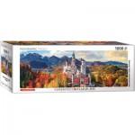 Puzzle  Eurographics-6010-5444 Château de Neuschwanstein en automne