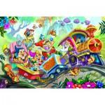 Puzzle  Eurographics-6035-0422 Blanche Neige et les 7 Nains