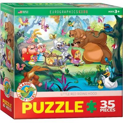 Puzzle Eurographics-6035-0876 Le Petit Chaperon Rouge