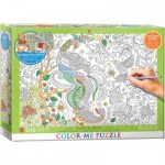 Puzzle  Eurographics-6055-0889 Color Me XXL - Tropical Birds