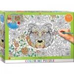 Puzzle  Eurographics-6055-0890 Color Me XXL - Tigre