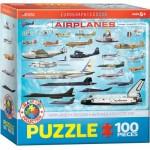 Puzzle  Eurographics-6100-0086 Avions