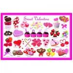 Puzzle  Eurographics-6100-0431 Bonbons d'amour