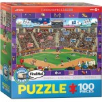 Puzzle  Eurographics-6100-0473 Trouve Moi - Base-ball