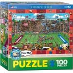 Puzzle  Eurographics-6100-0474 Trouve Moi - Football Américain