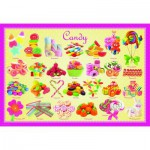 Puzzle  Eurographics-6100-0521 Bonbons