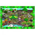 Puzzle  Eurographics-6100-0542 Une journée au Zoo