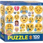 Eurographics-6100-0867 Emojipuzzle - Tristesse