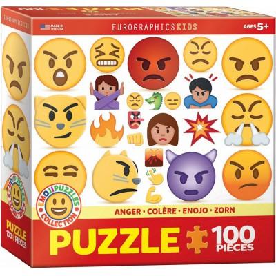 Eurographics-6100-0868 Emojipuzzle - Colère