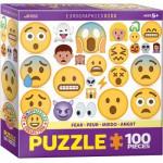 Eurographics-6100-0869 Emojipuzzle - Peur