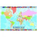 Puzzle  Eurographics-6100-1271 Carte du monde