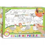 Puzzle  Eurographics-6111-0893 Color Me - Ferme