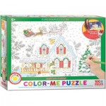 Puzzle  Eurographics-6111-0917 Color Me - Noël