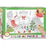 Puzzle  Eurographics-6111-0918 Color Me - Veille de Noël