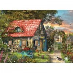 Eurographics-6500-0971 Pièces XXL - Family Puzzle: Dominic Davison - The Country Shed