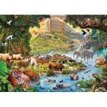 Eurographics-6500-0980 Pièces XXL - Familiy Puzzle: Steve Crisp - Noah's Ark Before the Rain