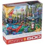 Puzzle  Eurographics-6500-5361 Pièces XXL - Totem Dreams