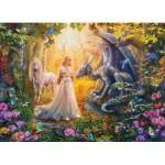 Puzzle  Eurographics-6500-5458 Pièces XXL - Princess' Garden