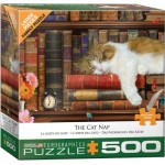 Puzzle  Eurographics-6500-5545 Pièces XXL - The Cat Nap