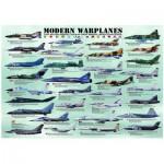 Puzzle  Eurographics-8000-0076 Avions de guerre modernes
