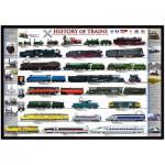 Puzzle  Eurographics-8000-0251 Histoire des trains