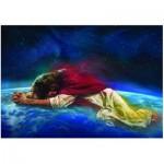 Puzzle  Eurographics-8000-0355 Nathan Greene : Jesus intercédant toujours