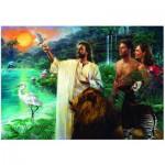Puzzle  Eurographics-8000-0356 Nathan Greene - Première Création dans le jardin d'Éden