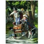 Puzzle  Eurographics-8000-0439 Bob Byerley - Mémoires d'enfants - Les secours arrivent