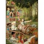Puzzle  Eurographics-8000-0440 Bob Byerley - Mémoires d'enfants - Acteurs