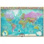 Puzzle  Eurographics-8000-0557 Carte du monde
