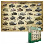 Puzzle  Eurographics-8000-0562 Chars de la seconde guerre mondiale
