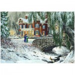 Puzzle  Eurographics-8000-0611 Winter Lace