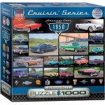 Puzzle  Eurographics-8000-0676 American Cars of the 1950s