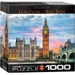 Puzzle  Eurographics-8000-0764 Londres, Big Ben