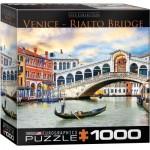 Puzzle  Eurographics-8000-0766 Venise, Pont Rialto
