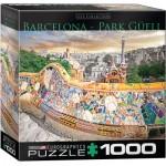 Puzzle  Eurographics-8000-0768 Barcelone Parc Güell