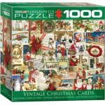 Puzzle  Eurographics-8000-0784 Anciennes Cartes de Noël