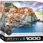 Puzzle  Eurographics-8000-0786 Manarola Cinque Terre Italie