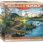 Puzzle  Eurographics-8000-0862 Abraham Hunter - Retraite d'Automne