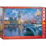Puzzle  Eurographics-8000-0916 Dominic Davison - Noël à Londres