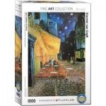 Puzzle  Eurographics-8000-2143 Vincent Van Gogh - Arles, Terrasse du café le soir, Place du Forum