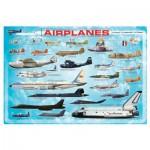 Puzzle  Eurographics-8100-0086 Avions