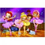 Puzzle  Eurographics-8100-0414 Allez les filles Allez ! Ballet