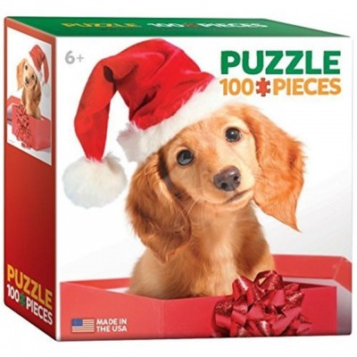 Eurographics-8104-0670 Mini Puzzle - Holiday Puppy