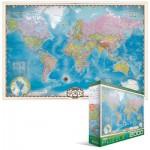 Puzzle  Eurographics-8220-0557 Carte du monde